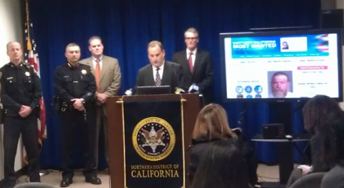 Northern California Most Wanted Press Conference December 10, 2013